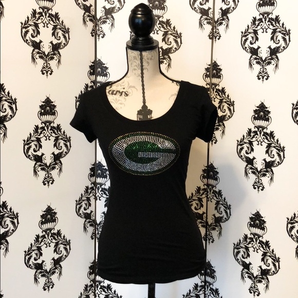 Sparkly Green Bay Packers Shirt